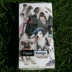 Dog Novelty Tissues