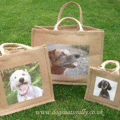 Personalised Dog Jute Bags