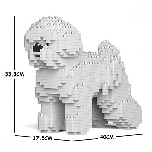Bichon Medium - Dog Lego