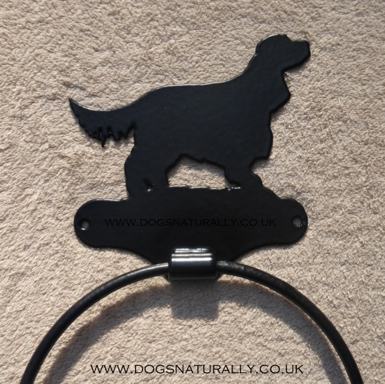 Cocker Spaniel Towel Hoop