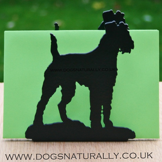 Irish Terrier Letter Rack