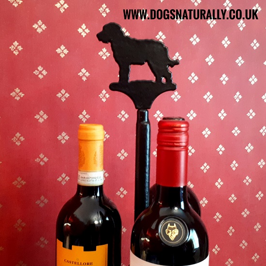 Labradoodle Wine Stand