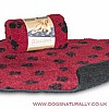 Red Fleece Dog Blanket