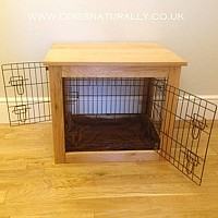 Oak Dog Crate/Table (Medium)