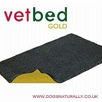 Vetbed Gold - Charcoal Grey