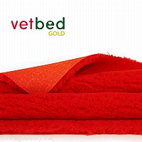 Vetbed Gold - Red