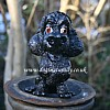 Black Poodle Glasses Holder
