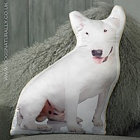 English Bull Terrier Cushion
