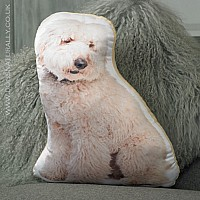 Labradoodle Cushion (Cream)