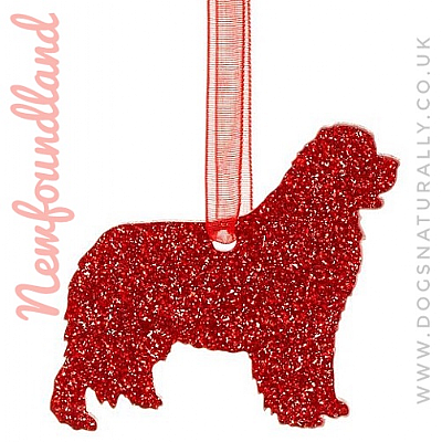 Newfoundland Glitter Decoration (Choose from 11 colours or Mix)