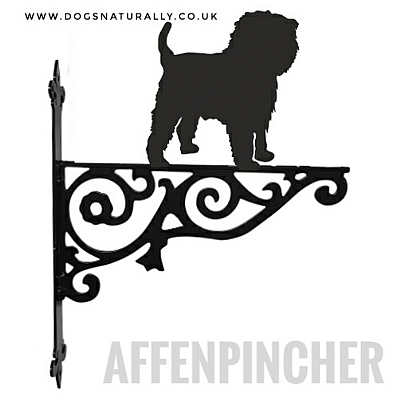 Affenpinscher Ornate Wall Bracket