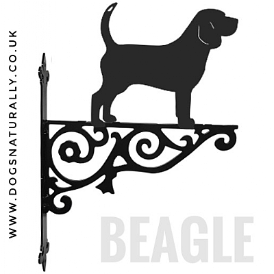 Beagle Ornate Wall Bracket