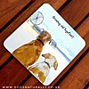 Growing Old Dog Lover Coaster