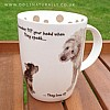 Head Tilt - Dog Lover Gift Mug (Irish Wolf Hound)
