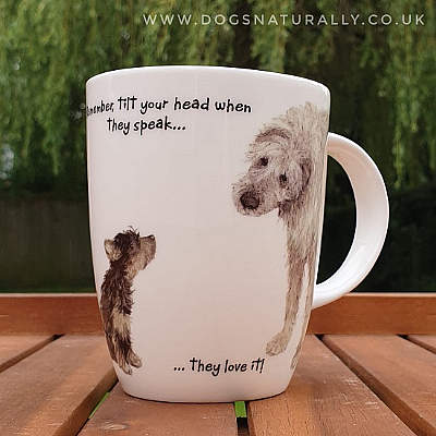 Head Tilt Fun Dog Mug