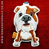 Bulldog Luxury Luggage Tag
