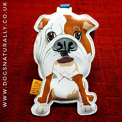 English Bulldog Luxury Luggage Tag