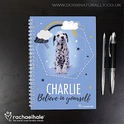 Personalised Dalmatian Notebook (Rachael Hale)