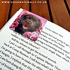 Chocolate Labrador Magnetic Page Marker