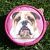 English Bulldog Purse - Pink