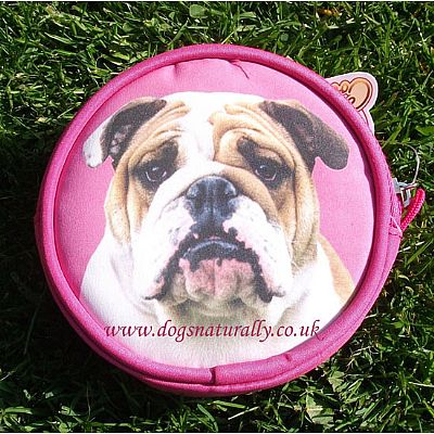 English Bulldog Purse Pink or Lilac