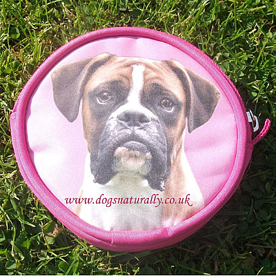 Boxer Dog Purse Pink or Lilac