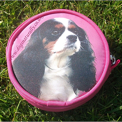 Cavalier Dog Purse (Tri Colour) Pink or Lilac