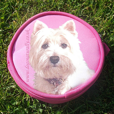 Westie Purse Pink or Lilac