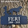 Personalised Dog Breed Memorial Plaque