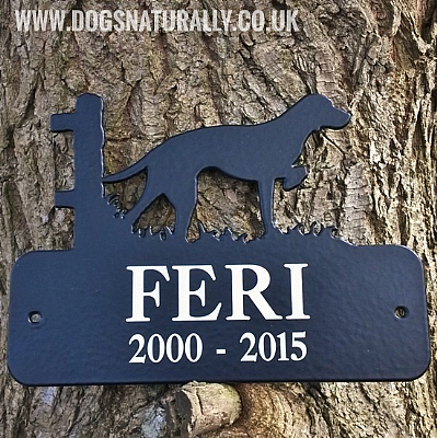Personalised Memorial Plaque (Over 100 Breeds)