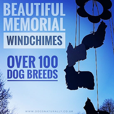 Memorial Dog Windchimes over 100 Breeds Available