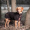 Personalised Brown Drying Coat - Labrador - Country Style