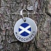 Scottish Flag Tag - Microchipped