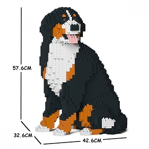 Bernese Mountain Dog (Sat) Medium - Dog Lego