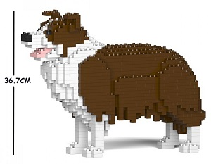 Border Collie Medium - Dog Lego