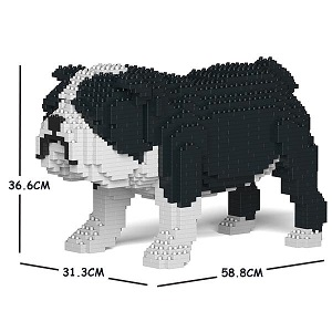 English Bulldog Jekca Medium (Black)