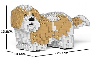 Shih Tzu (Gold/White) Jekca Small
