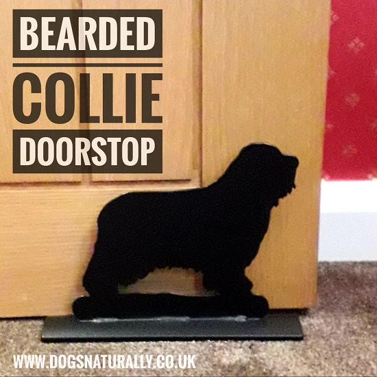 Bearded Collie Doorstop