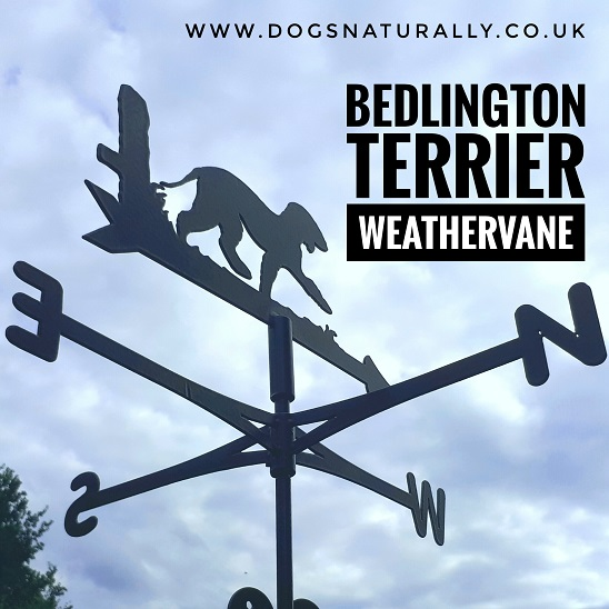 Bedlington Terrier Weather Vane