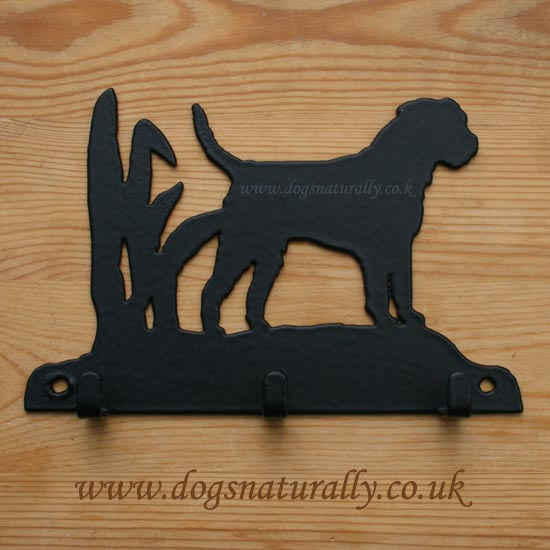 Border Terrier Key Rack