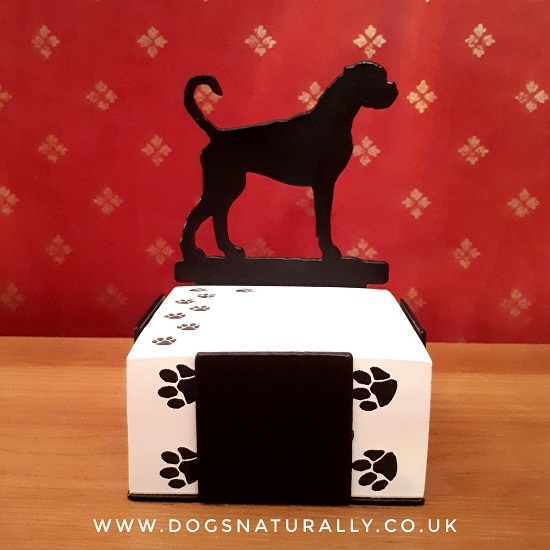 Border Terrier Note Block Holder