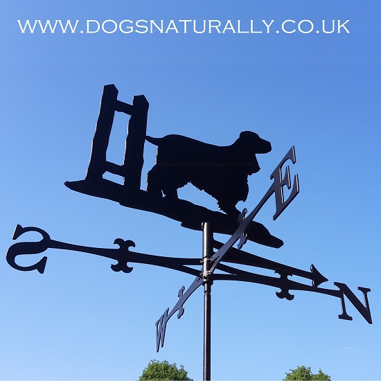 Cocker Spaniel Weather Vane
