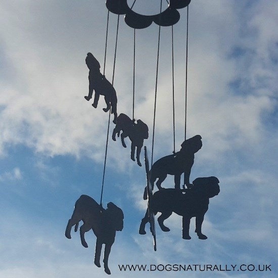 Staffie Windchimes