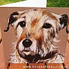 Lucy Dog Lover Portrait Art Card