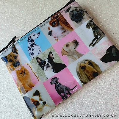 Dog Gallery Zip Purse