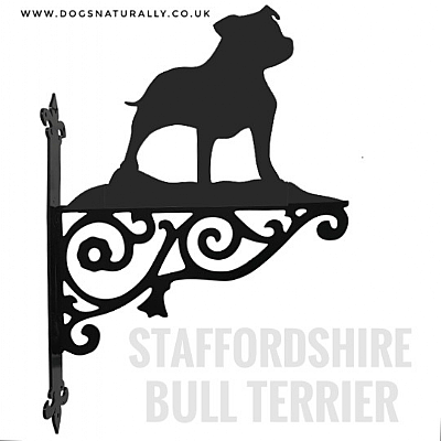 Staffie Ornate Wall Bracket