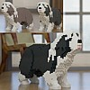 Bearded Collie Jekca (Dog Lego)