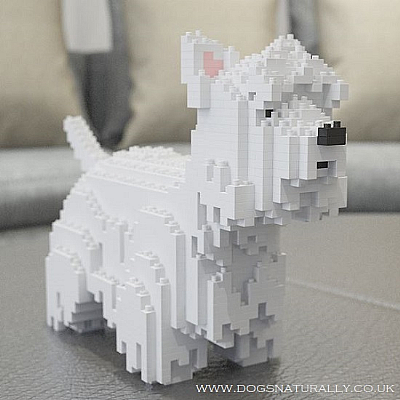 West Highland White Terrier Jekca Available in 2 Sizes