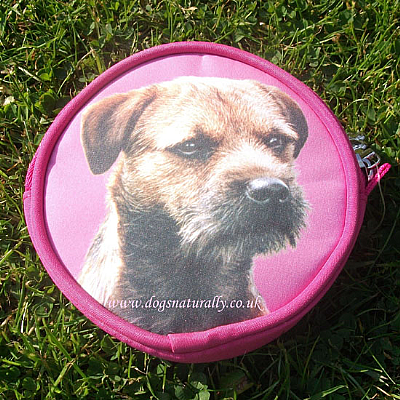 Border Terrier Purse Pink or Lilac