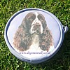 English Spinger Spaniel Purse - Lilac